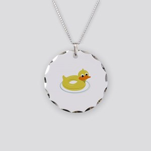 Duck Pool Toy Necklace