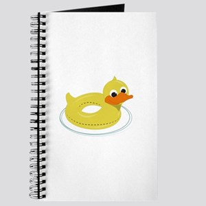 Duck Pool Toy Journal