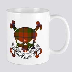 MacNaughton Tartan Skull Mug
