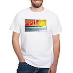 Siesta Key Beach Sunset White T-Shirt