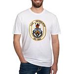 USS NICHOLSON Fitted T-Shirt