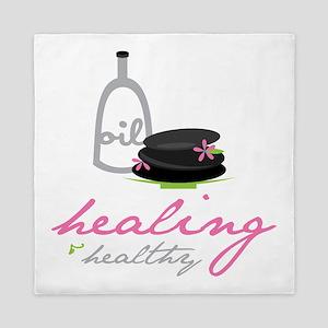 Healing & Healthy Queen Duvet