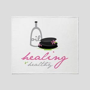 Healing & Healthy Throw Blanket