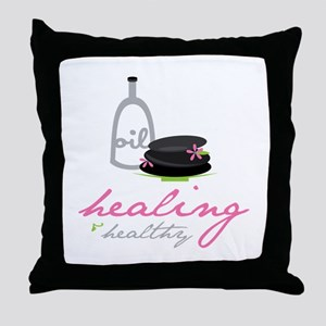 Healing & Healthy Throw Pillow