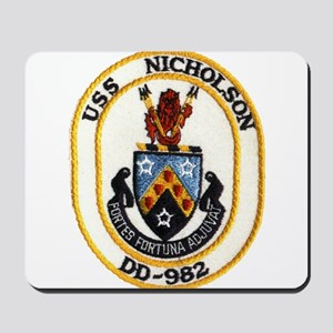 USS NICHOLSON Mousepad