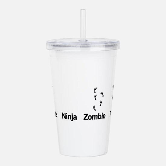 Footprint Guide Acrylic Double-wall Tumbler