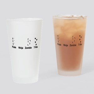 Footprint Guide Drinking Glass