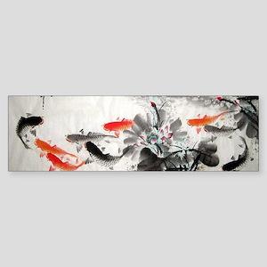 Koi fish Sticker (Bumper)
