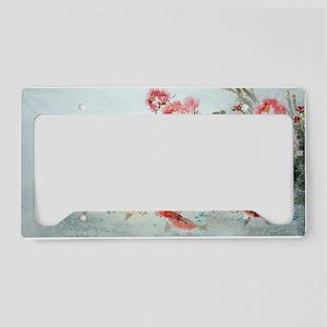 Koi fish License Plate Holder
