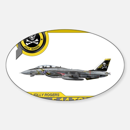 VF-84 Jolly Rogers Rectangle Decal