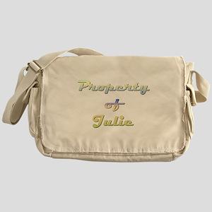 Property Of Julie Female Messenger Bag