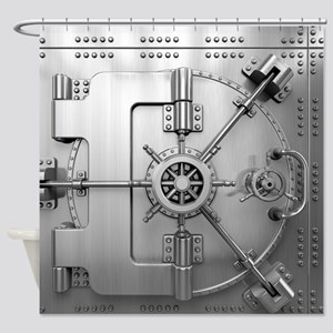 Vault Door Shower Curtain