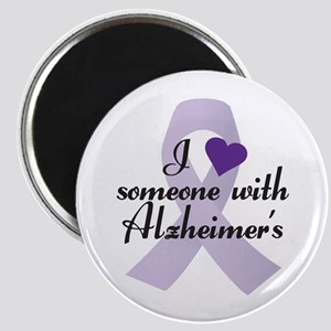 I Love Someone With Alzheimers Magnets