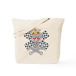 Race Fashion.com Skull Tote Bag