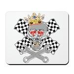 Race Fashion.com Skull Mousepad