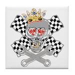 Race Fashion.com Skull Tile Coaster