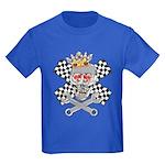 Race Fashion.com Skull Kids Dark T-Shirt