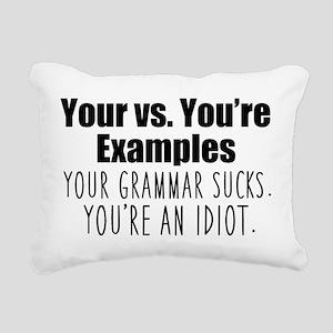 Your You're Rectangular Canvas Pillow