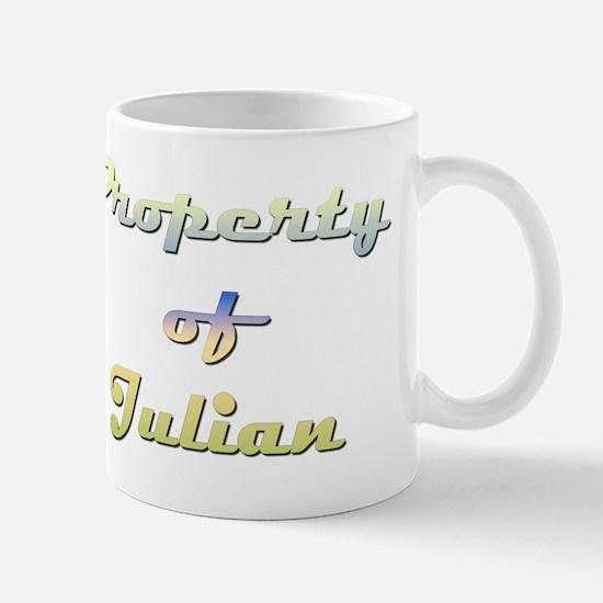 Property Of Julian Female Mug