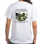 Don't Tread Deer White T-Shirt
