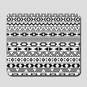 Tribal Pattern b/w Mousepad