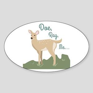 Doe Ray, Me... Sticker