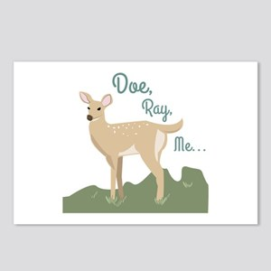 Doe Ray, Me... Postcards (Package of 8)