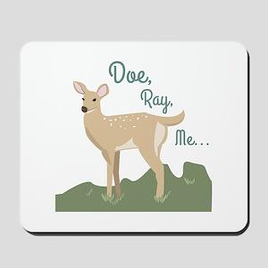 Doe Ray, Me... Mousepad