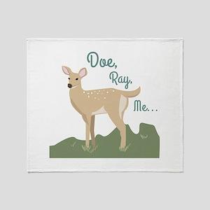 Doe Ray, Me... Throw Blanket