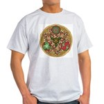 Celtic Reindeer Shield Light T-Shirt