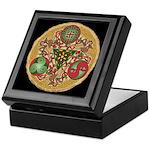 Celtic Reindeer Shield Keepsake Box