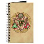 Celtic Reindeer Shield Journal