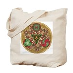 Celtic Reindeer Shield Tote Bag