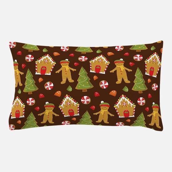 Snowman Couple Christmas Pillow Case