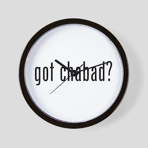 Got Chabad Wall Clock