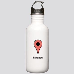 I am Here Water Bottle