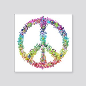 Peace of Flowers Sticker