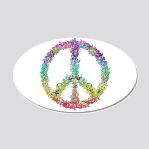 Peace of Flowers Wall Decal