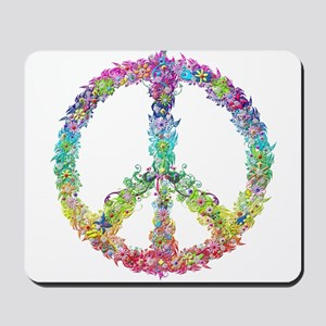 Peace of Flowers Mousepad
