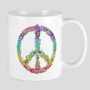 Peace of Flowers Mugs