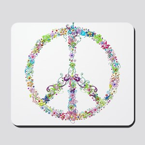 Peace of Flowers Mousepad