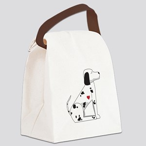 Dalmation Canvas Lunch Bag