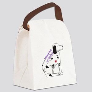 Darling Dalmations Canvas Lunch Bag