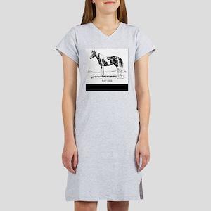 Paint Horse Women's Nightshirt