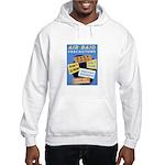 Air Raid War Poster Hooded Sweatshirt