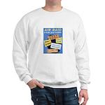 Air Raid War Poster Sweatshirt