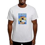 Air Raid War Poster Light T-Shirt