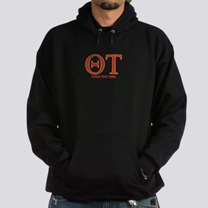 Theta Tau Personalized Hoodie (dark)