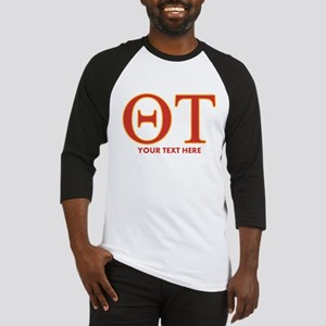 Theta Tau Personalized Baseball Jersey