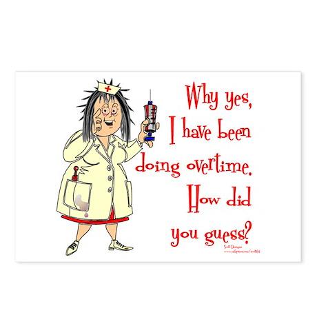 Nurse Mandatory Overtime Postcards (Package of 8)